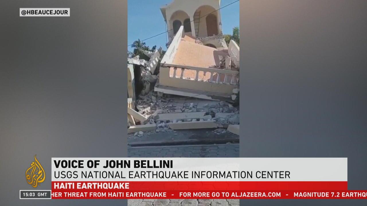 Tsunami alert issued as powerful earthquake strikes western Haiti