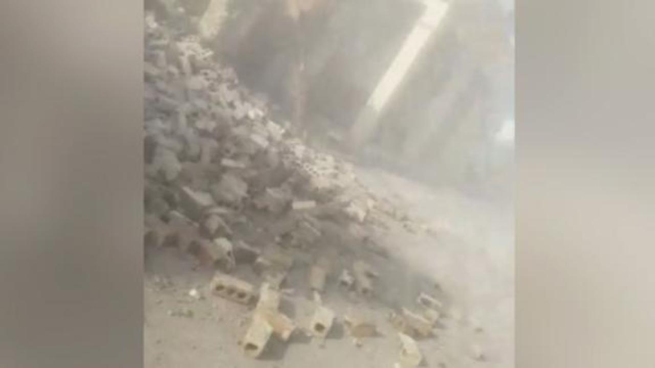 Video shows aftermath of Haiti earthquake
