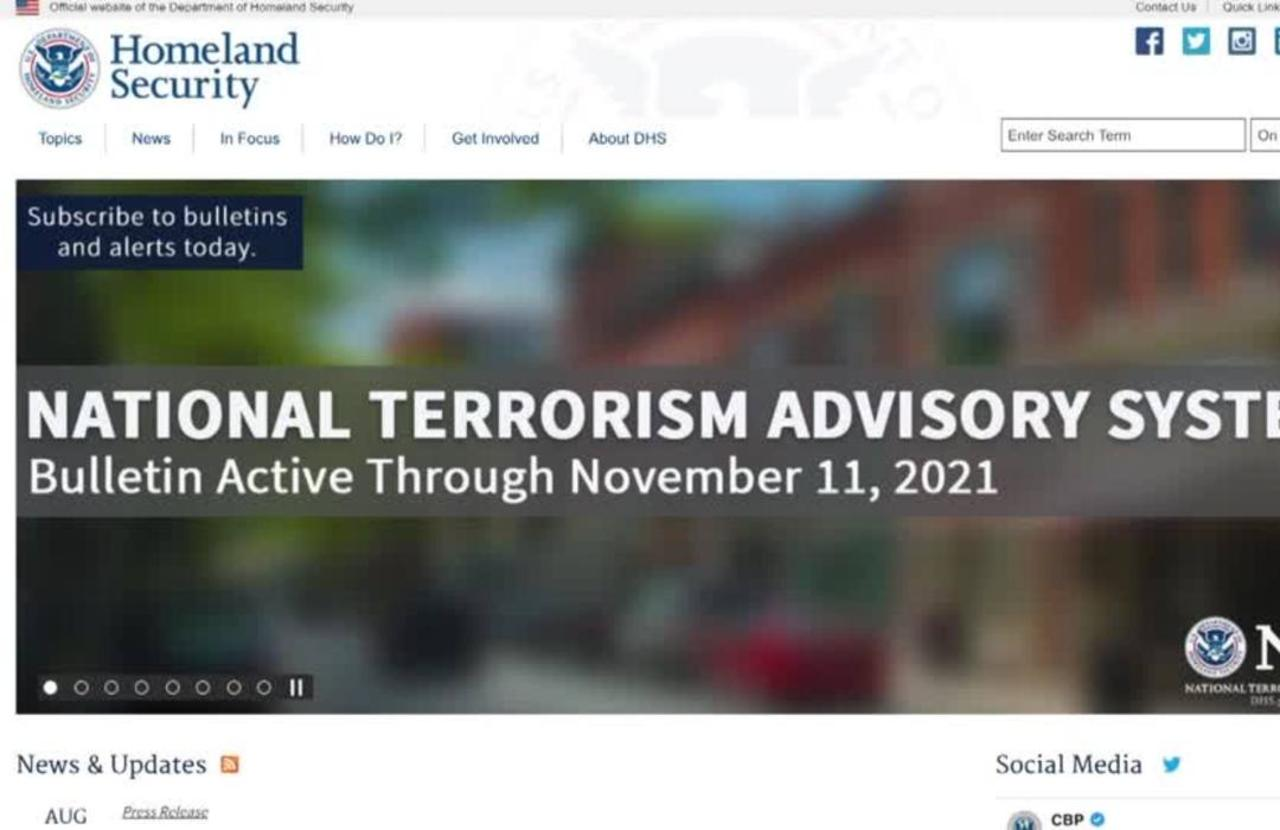 U.S. warns of violent COVID-19-related attacks