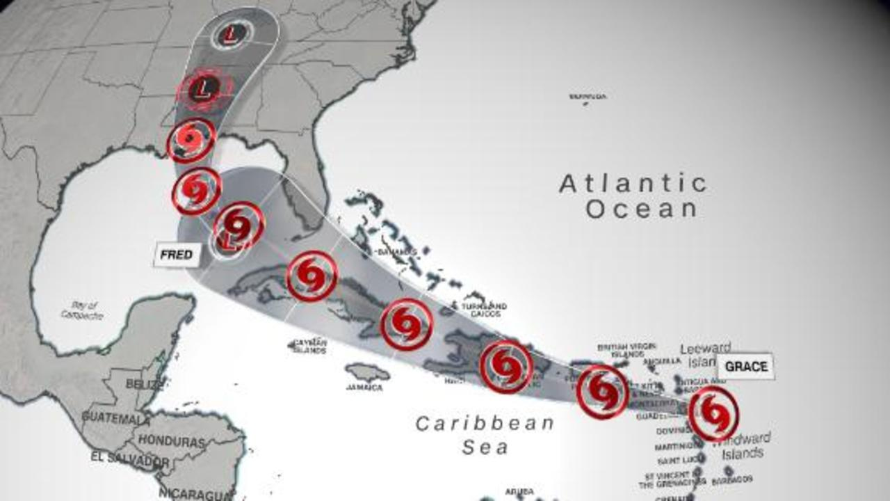 Tropical Storm Grace could impact Haiti beginning Monday