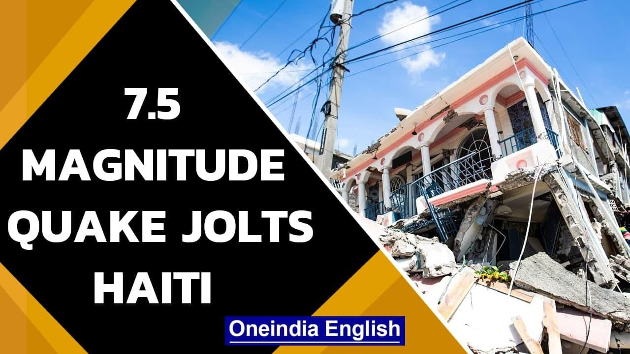 Haiti jolted by 7.5 magnitude earthquake, 304 people dead | Oneindia News