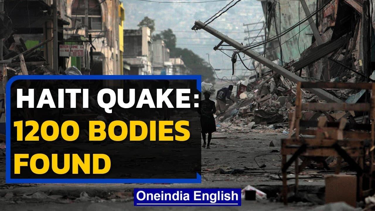 Haiti Earthquake: Death count jumps to over 1200 | Oneindia News