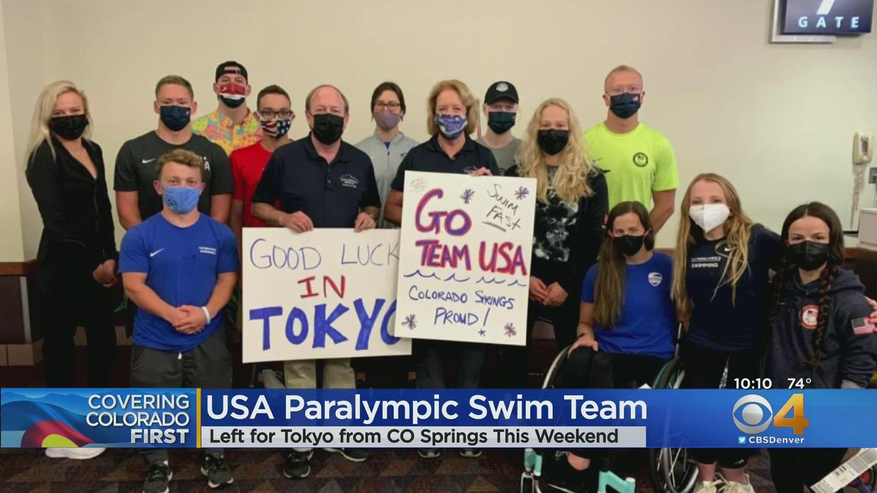 14 Paralympic Swimmers Head To Tokyo After Training In Colorado