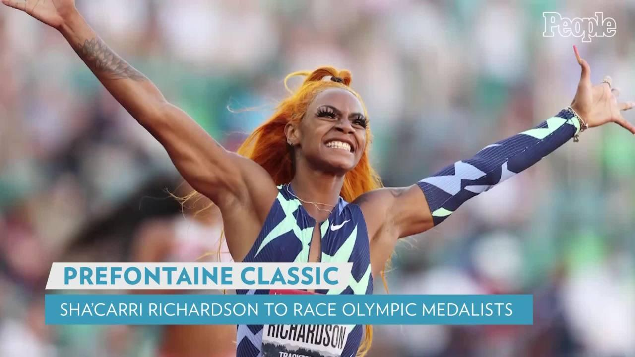 Sha'Carri Richardson Will Race All 3 Olympic 100m Medalists After Being Suspended from Team USA
