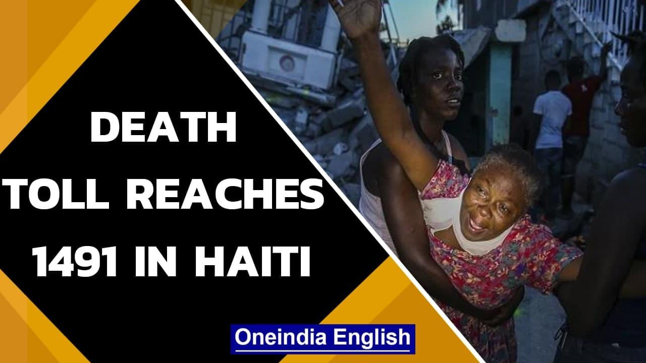 Haiti Quake: Death toll raise to 1419, 6000 injured | Onindia News
