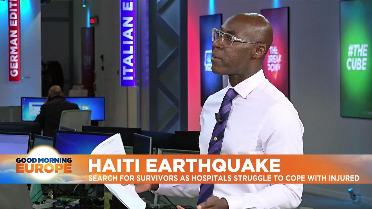 Haiti quake death toll rises to 1,419, injured now at 6,000