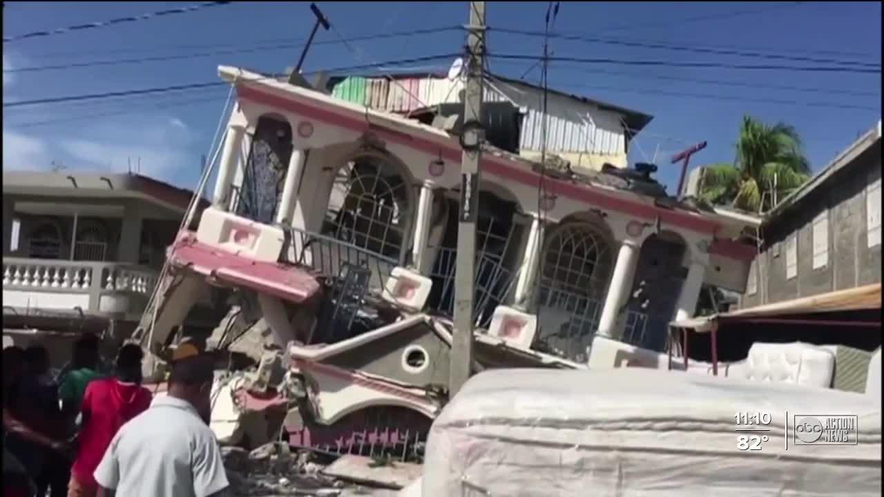 Local nonprofit taking donations to Haiti after devastating earthquake