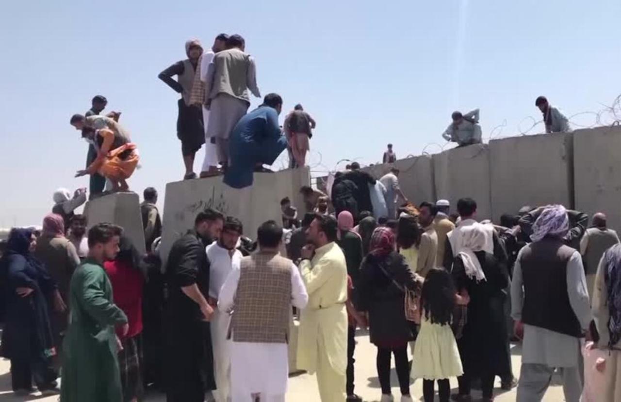 U.S. Afghans struggle to help relatives in Kabul