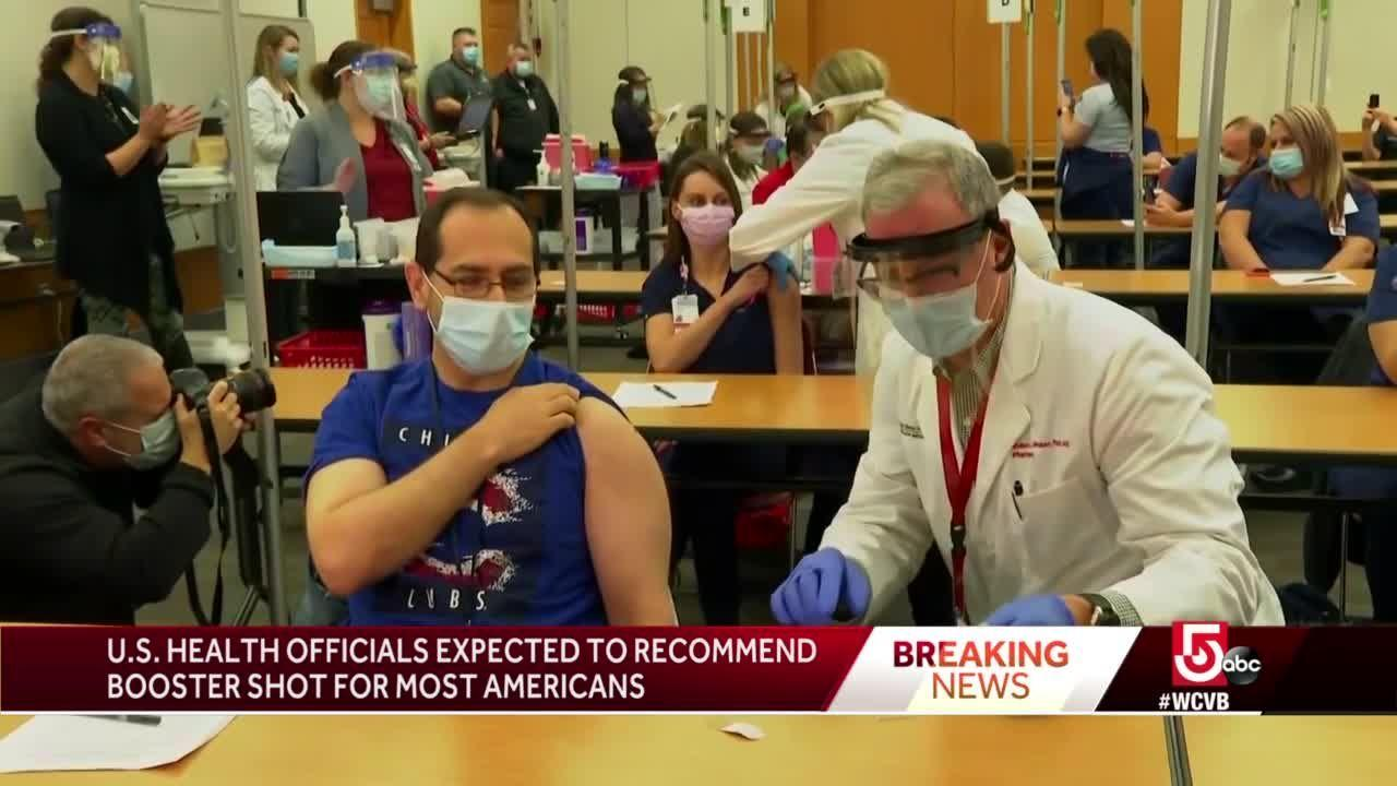 Booster COVID-19 shot expected to be recommended for most Americans