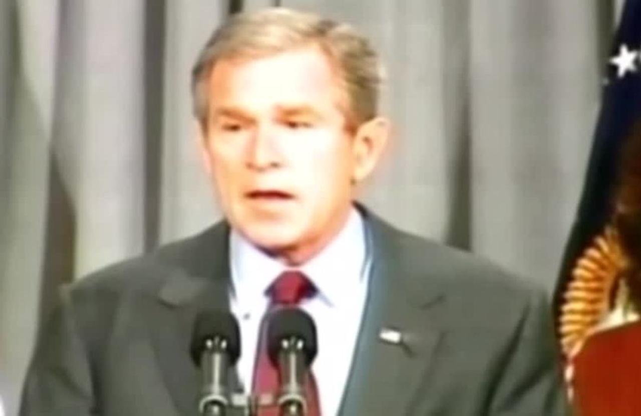Bush expresses 'deep sadness' over Afghanistan