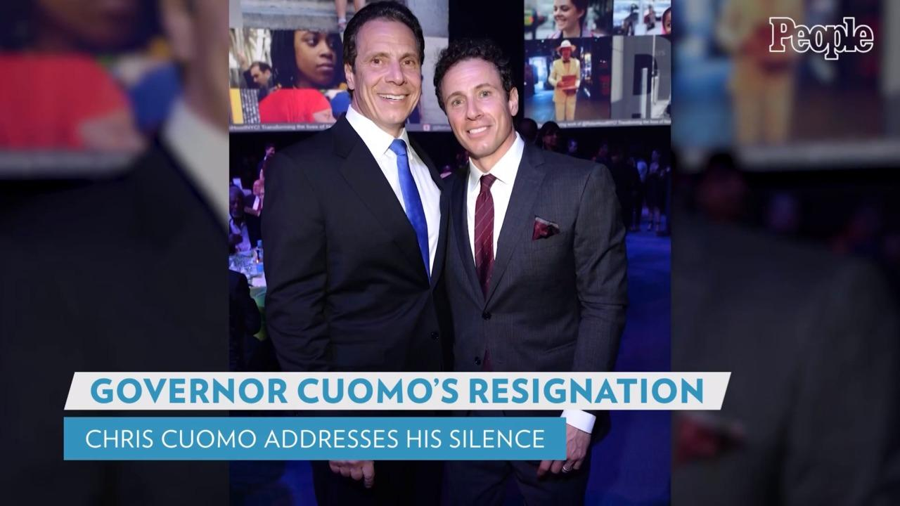 Chris Cuomo Addresses His Silence on Brother Andrew Cuomo's Resignation