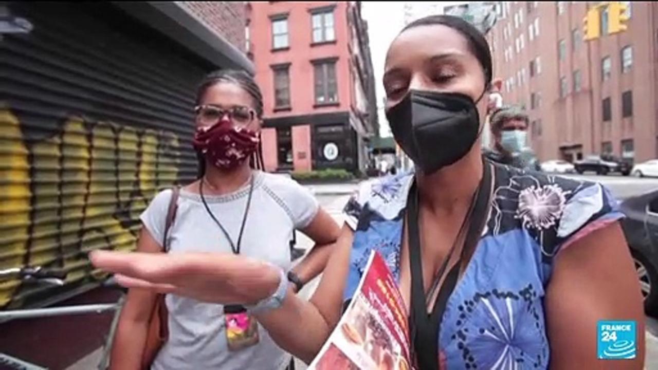 Coronavirus pandemic: NYC begins requiring proof of vaccination