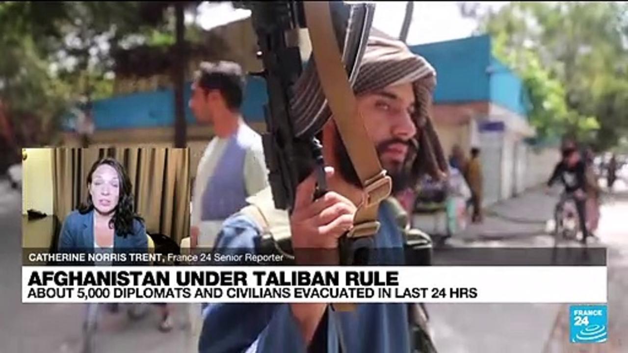 Taliban in Kabul: Evacuations from Afghanistan gain momentum