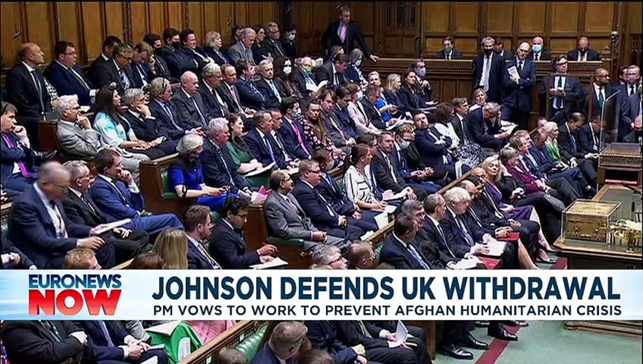Boris Johnson accused of complacency over Afghanistan retreat in UK parliamentary debate