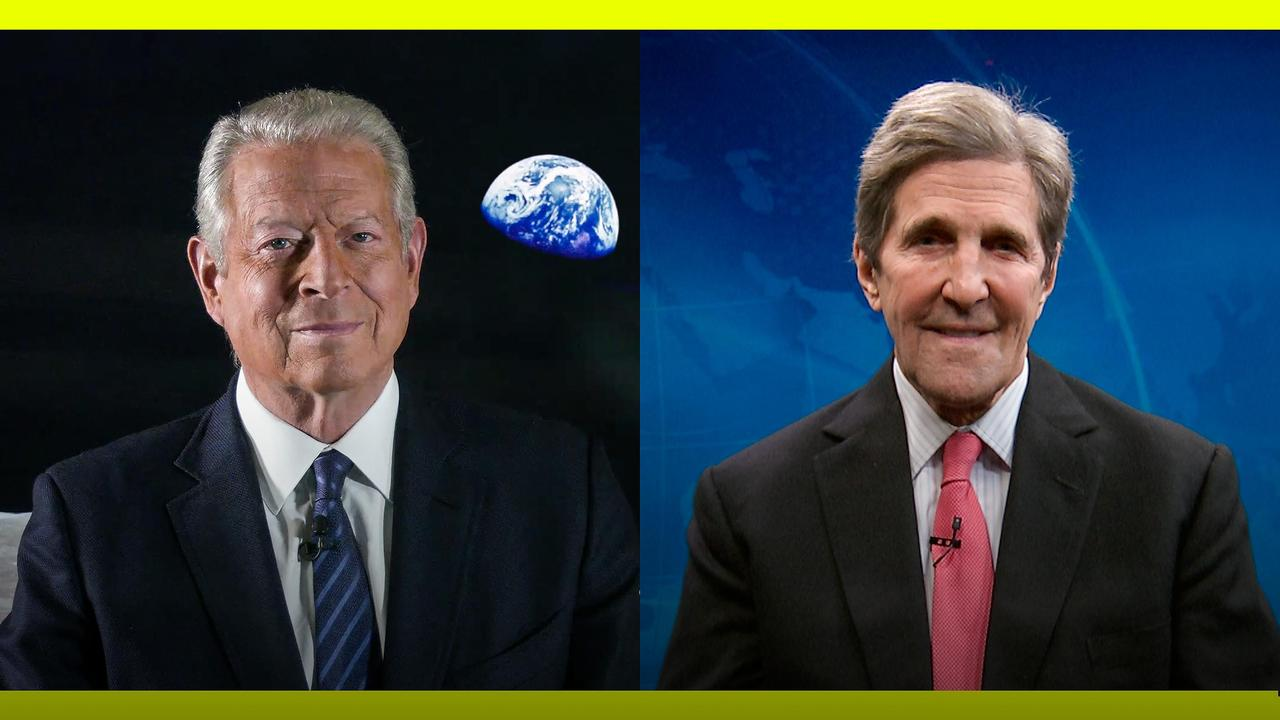 The US is back in the Paris Agreement. What's next?   John Kerry and Al Gore