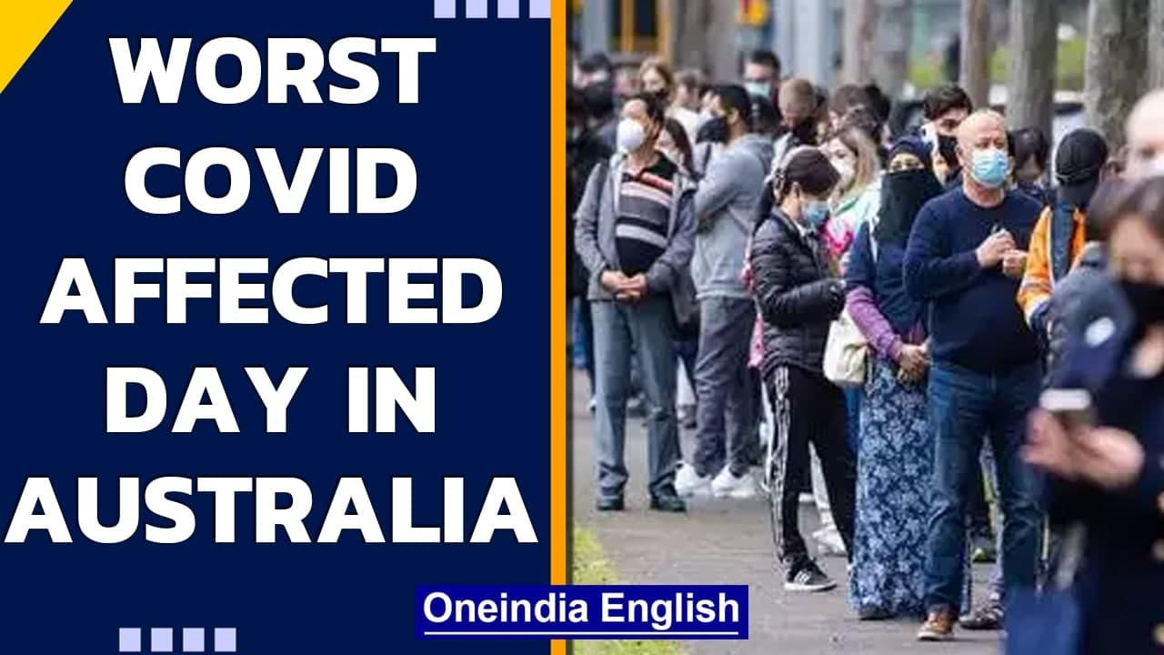 Australia surpasses last year's highest record of daily Covid cases with 754 cases | Oneindia News