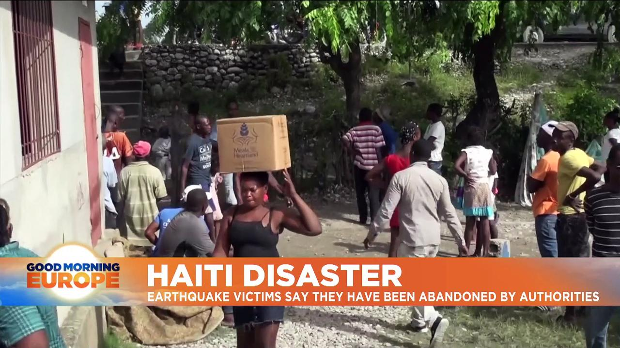 Haiti earthquake: Large-scale aid yet to reach remote areas where people 'don't have anything'