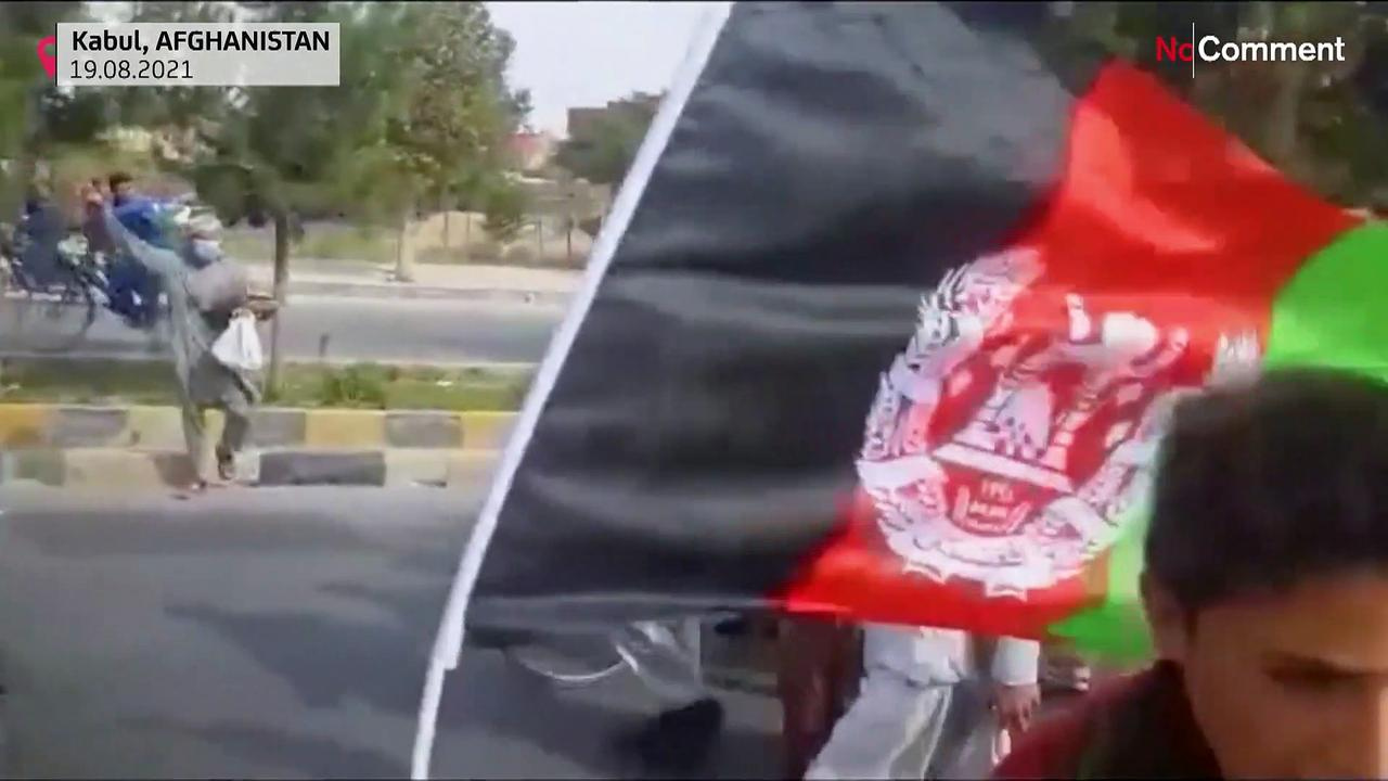 Taliban disperse Kabul protest with gunfire
