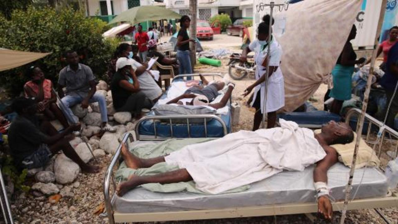 'Let's help these people rise again': Aid worker on helping Haiti