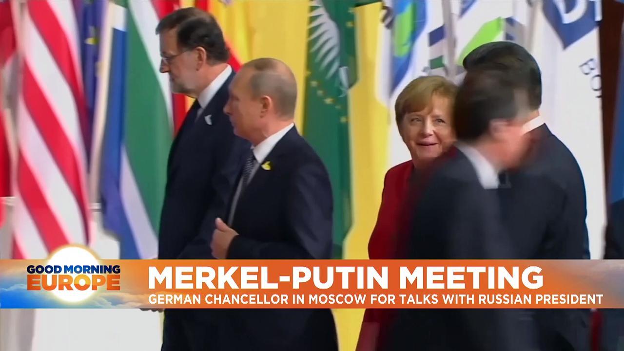 Merkel and Putin to meet on anniversary of Navalny's poisoning as relations hit low