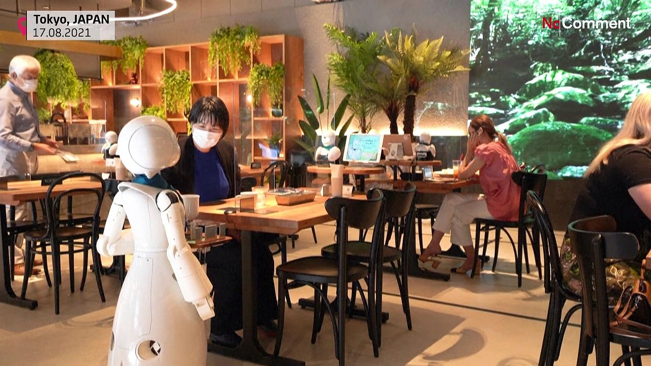 Robot cafe offers new spin on disability inclusion in Tokio