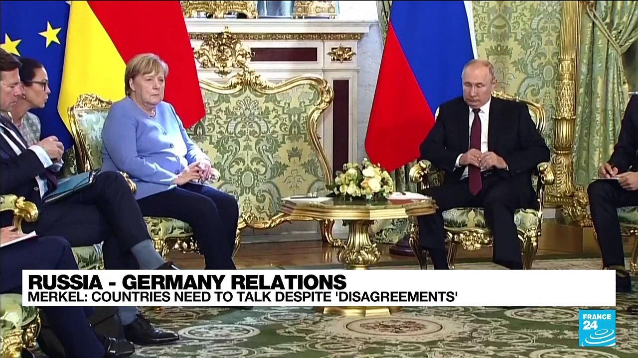 Merkel says Moscow, Berlin should talk despite 'deep differences'