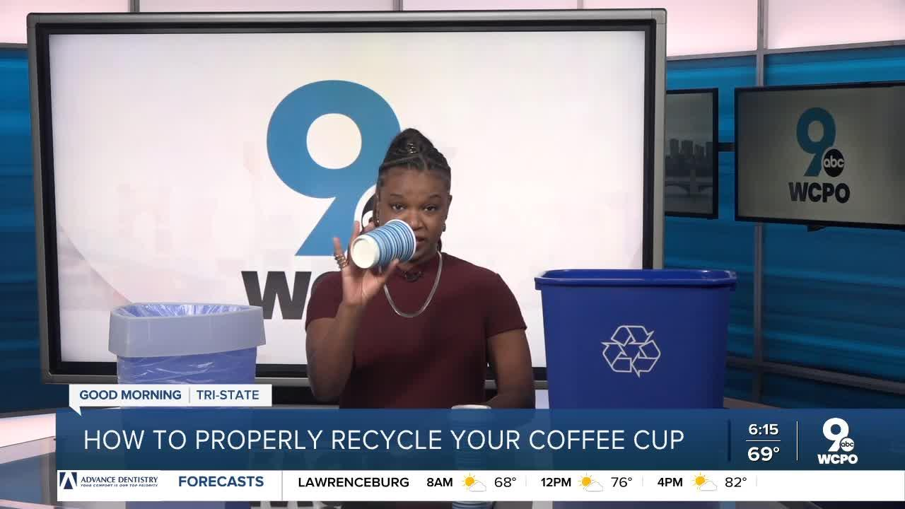 How to properly recycle your coffee cup