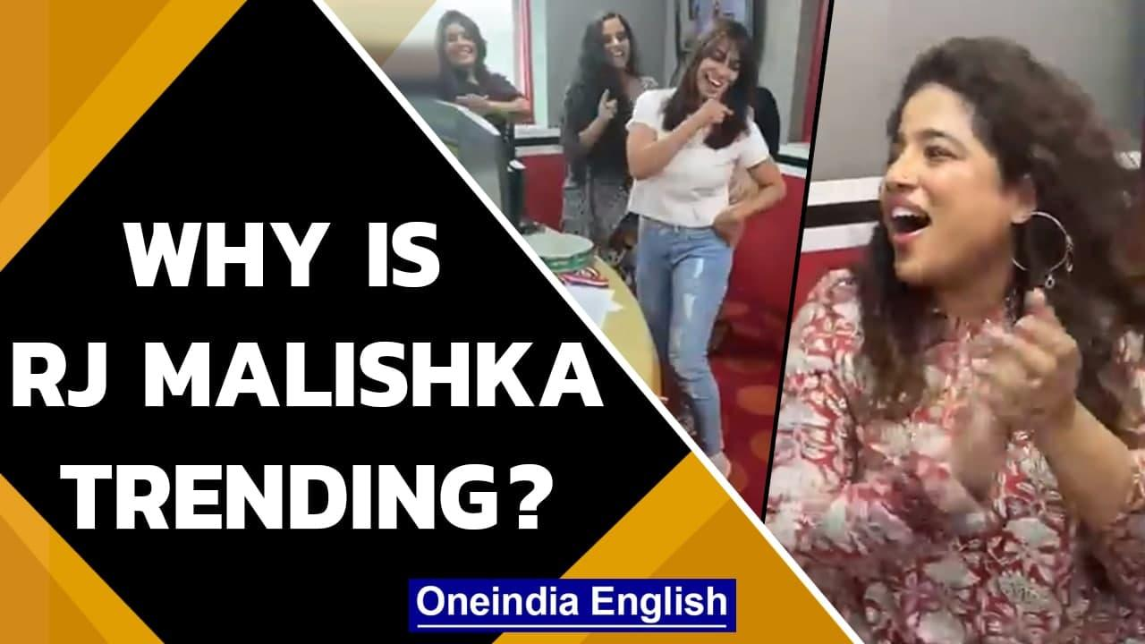 RJ Malishka's 'inappropriate' behaviour with Neeraj Chopra sparks outrage | Oneindia News
