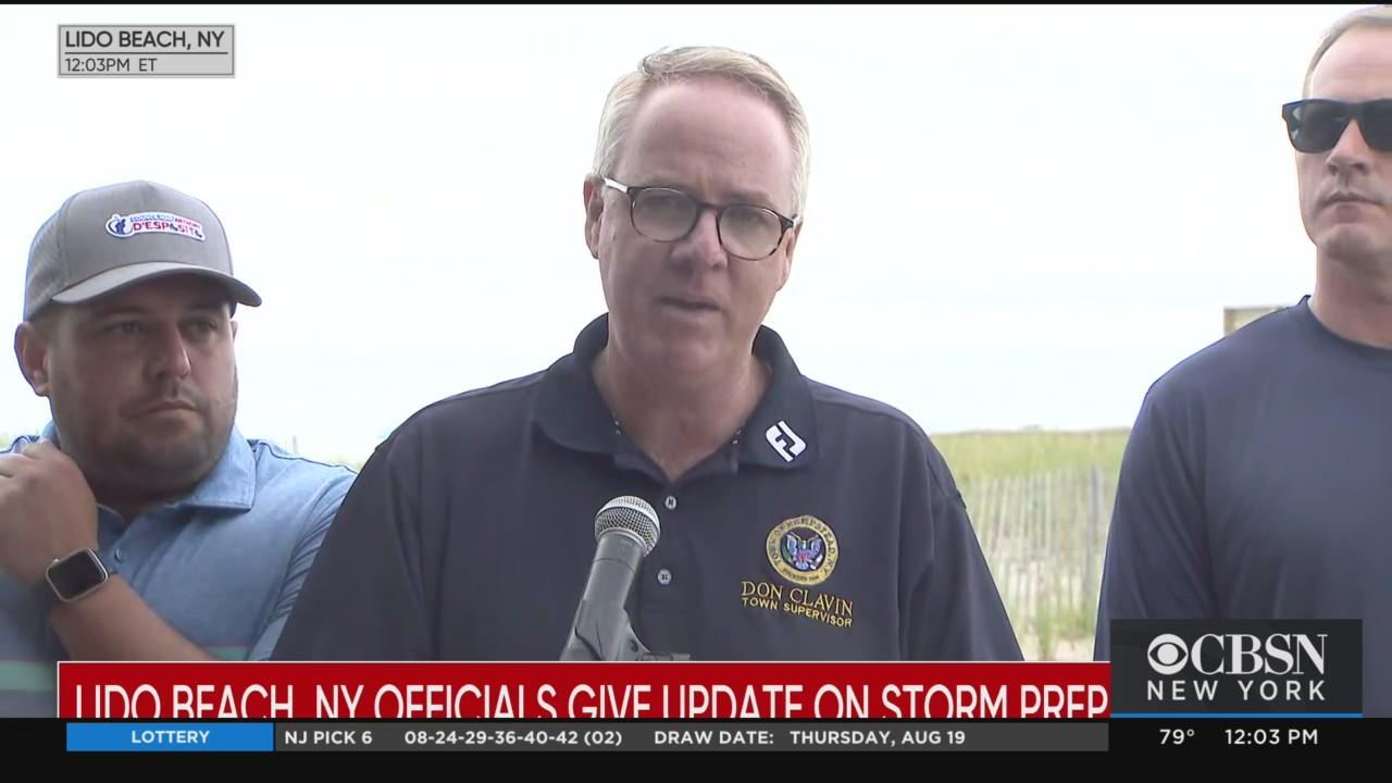Press Conference: Nassau County Officials Give Update On Hurricane Henri Preps