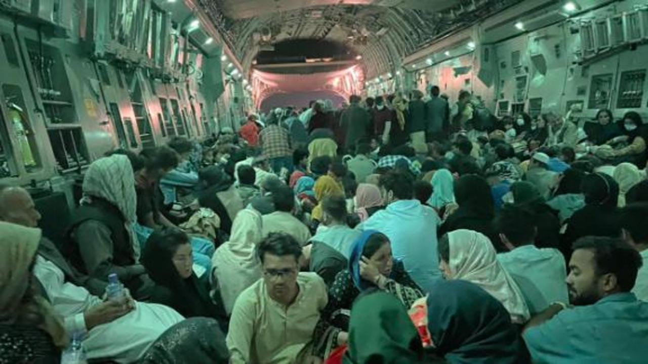 Clarissa Ward recounts her journey out of Afghanistan aboard a refugee flight