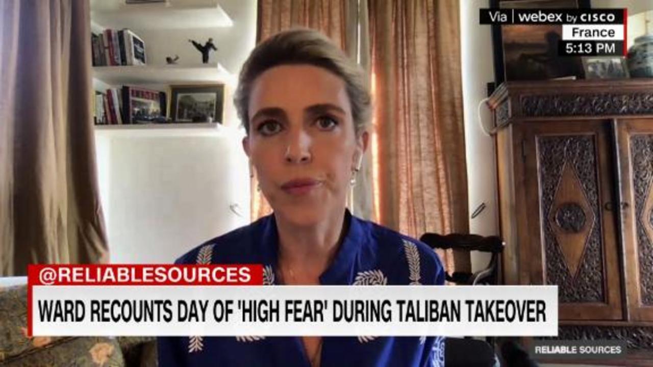 Clarissa Ward recounts 'profound uncertainty' in Kabul