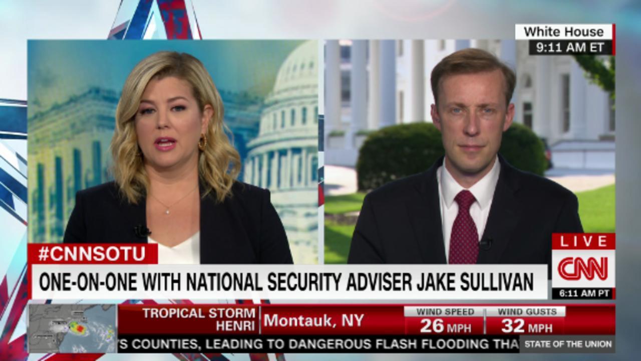 Sullivan: US using 'alternative methods' of getting to airport