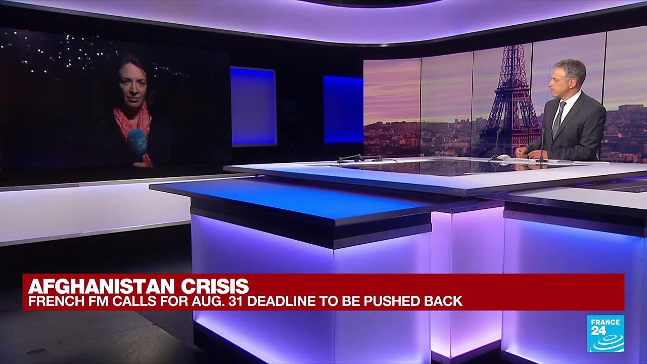 FRANCE 24 in Kabul: Taliban warn of 'consequences' if US extends evacuation