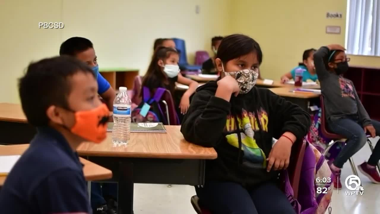 Palm Beach County School District mask mandate takes effect today