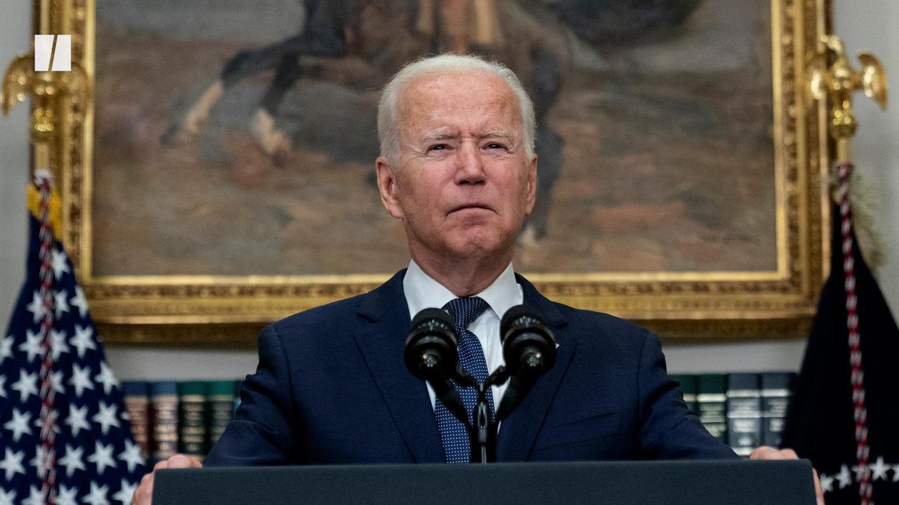 Biden Defends Afghanistan Evacuations