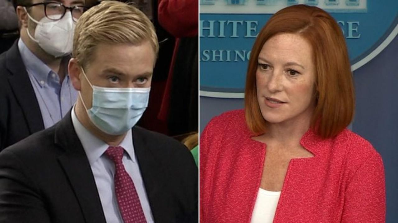 'Irresponsible': Psaki calls out reporter's question