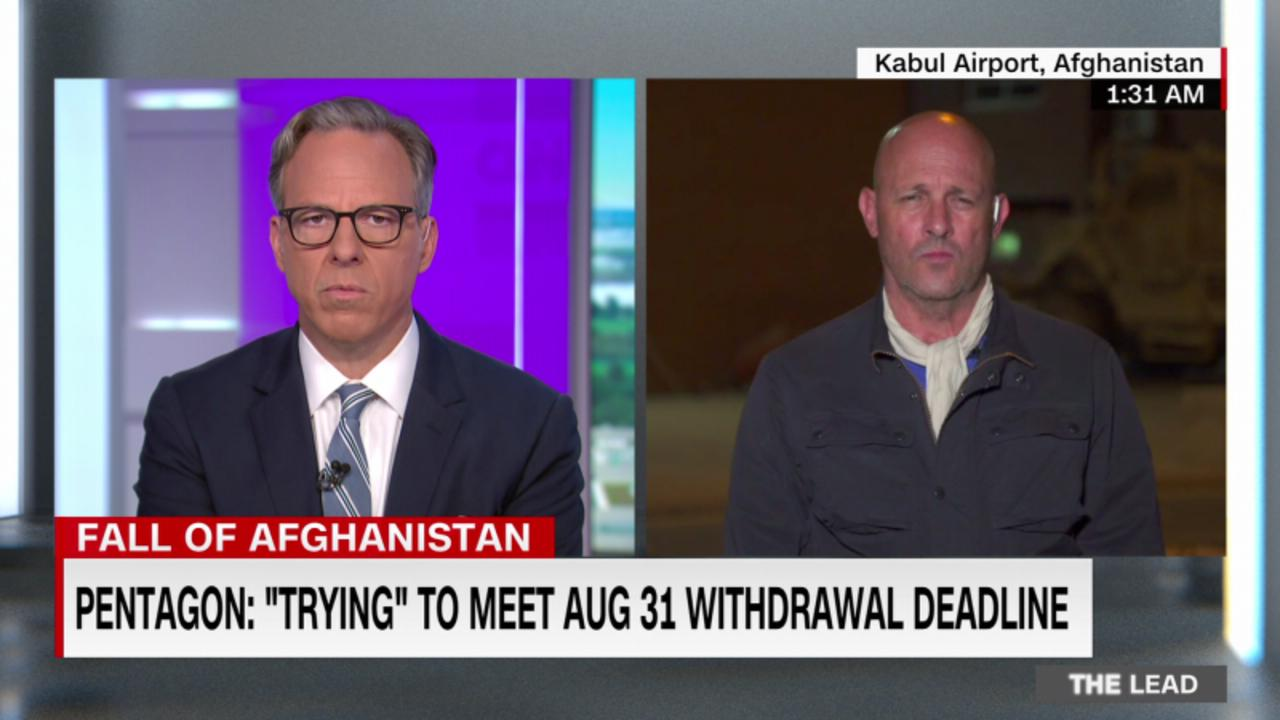 Biden's national security adviser: ISIS threats against the Kabul airport are 'real' and 'acute'
