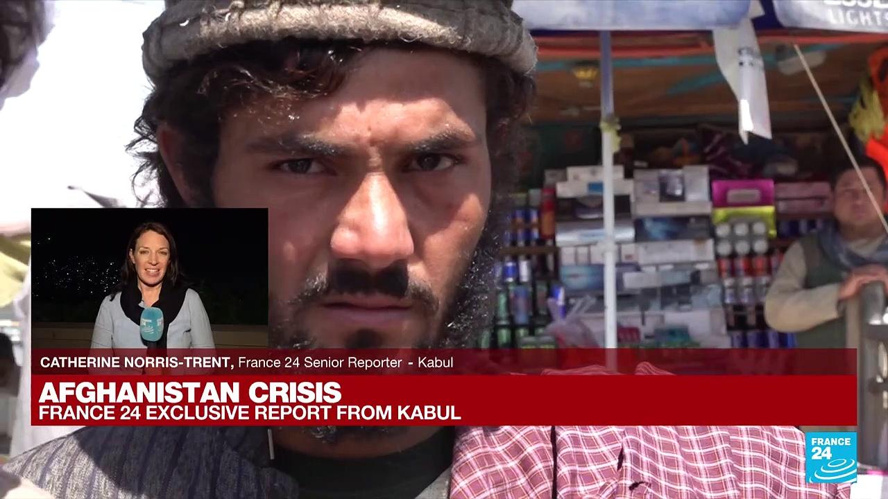 FRANCE 24 in Kabul: Taliban fighters 'are supremely confident'