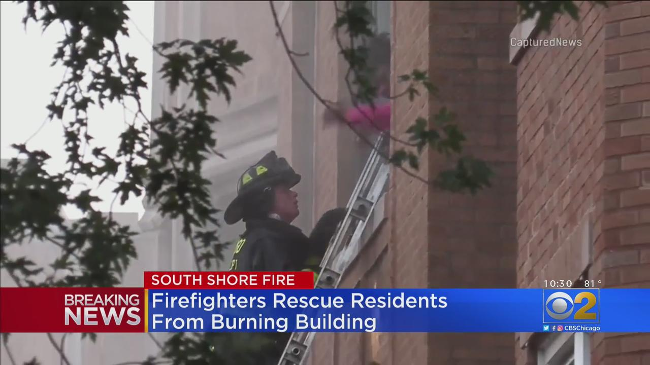 Firefighter, 3 Residents Rushed To Hospital After South Shore Fire