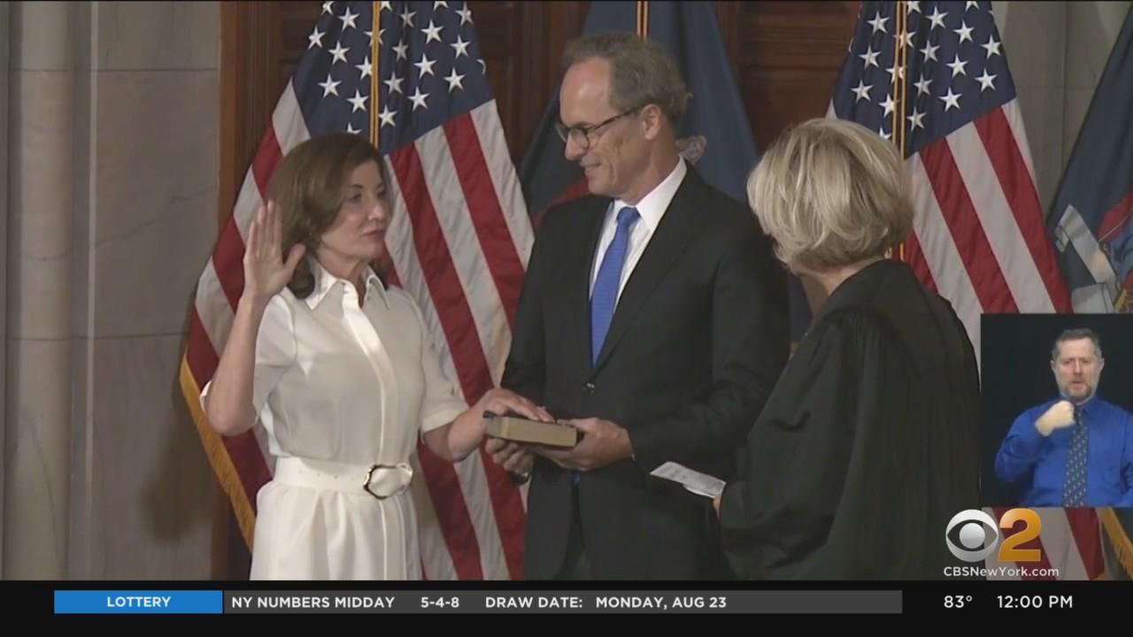 Kathy Hochul Makes History As New York's 57th Governor