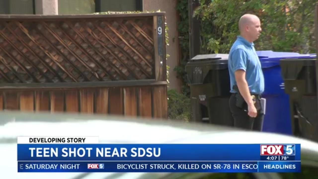 Residents near San Diego college frustrated by regular parties, shooting that sent teenager to the hospital