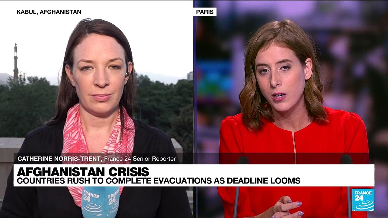 FRANCE 24 in Kabul: Frightened women 'wait to see what Taliban rule will mean for them'