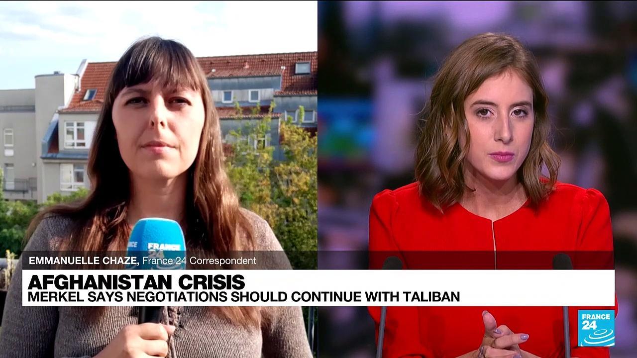 Germany to help Afghans seeking to leave beyond Aug. 31 deadline, says Merkel