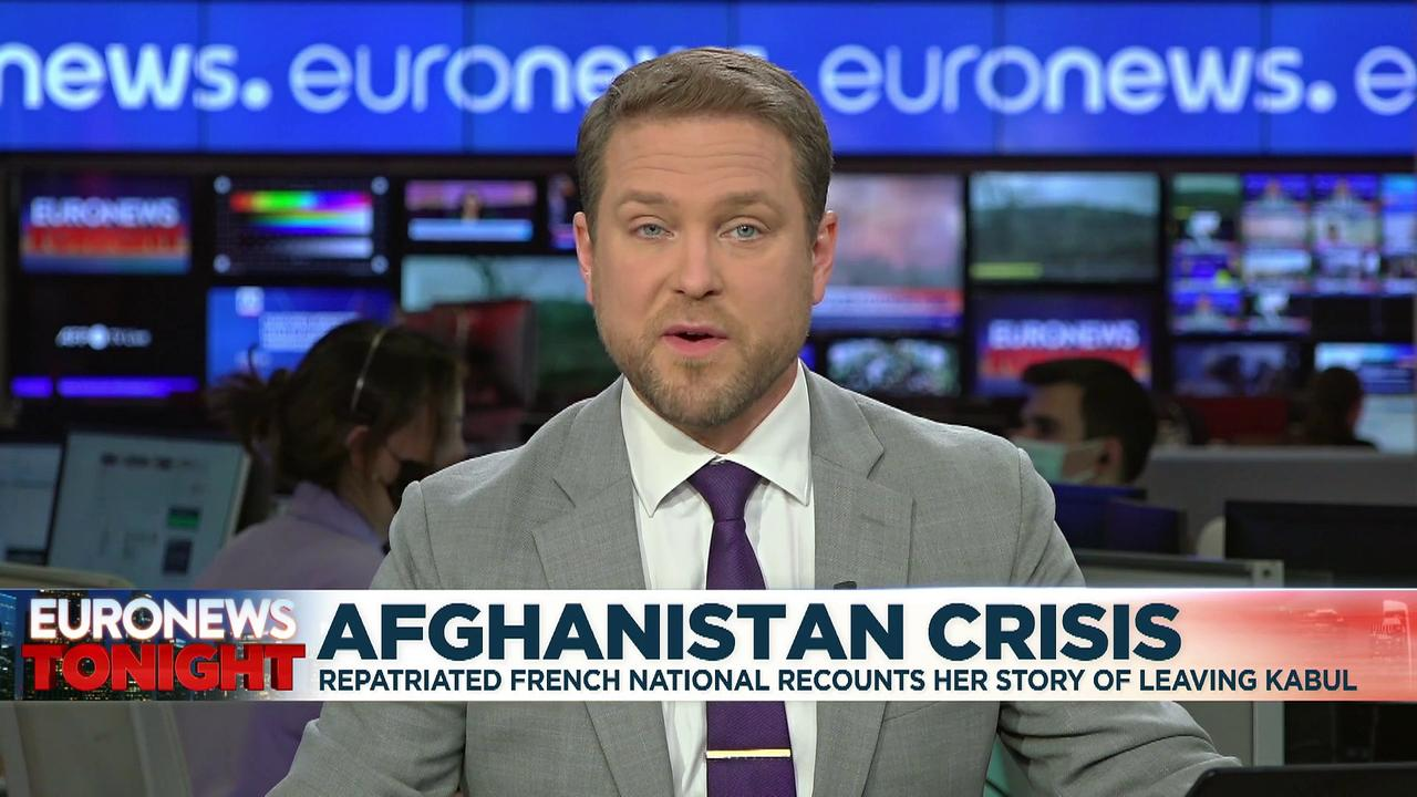 French citizen recounts 'frantic' trip to Kabul airport for evacuation
