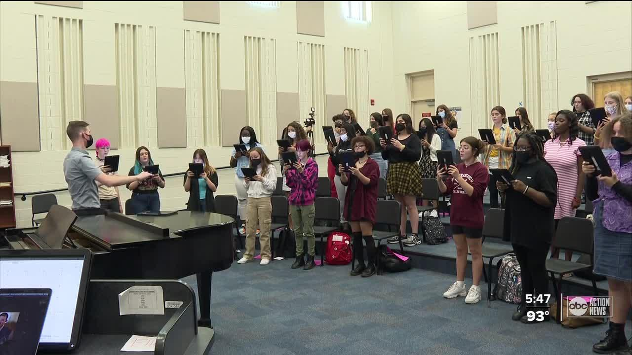 Gibbs HS choir students to sing at prestigious conference