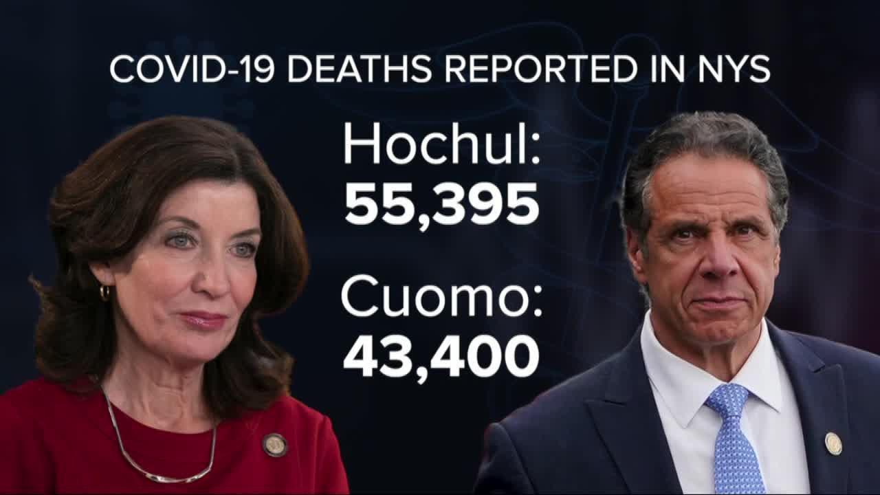 Hochul updates COVID-19 death data
