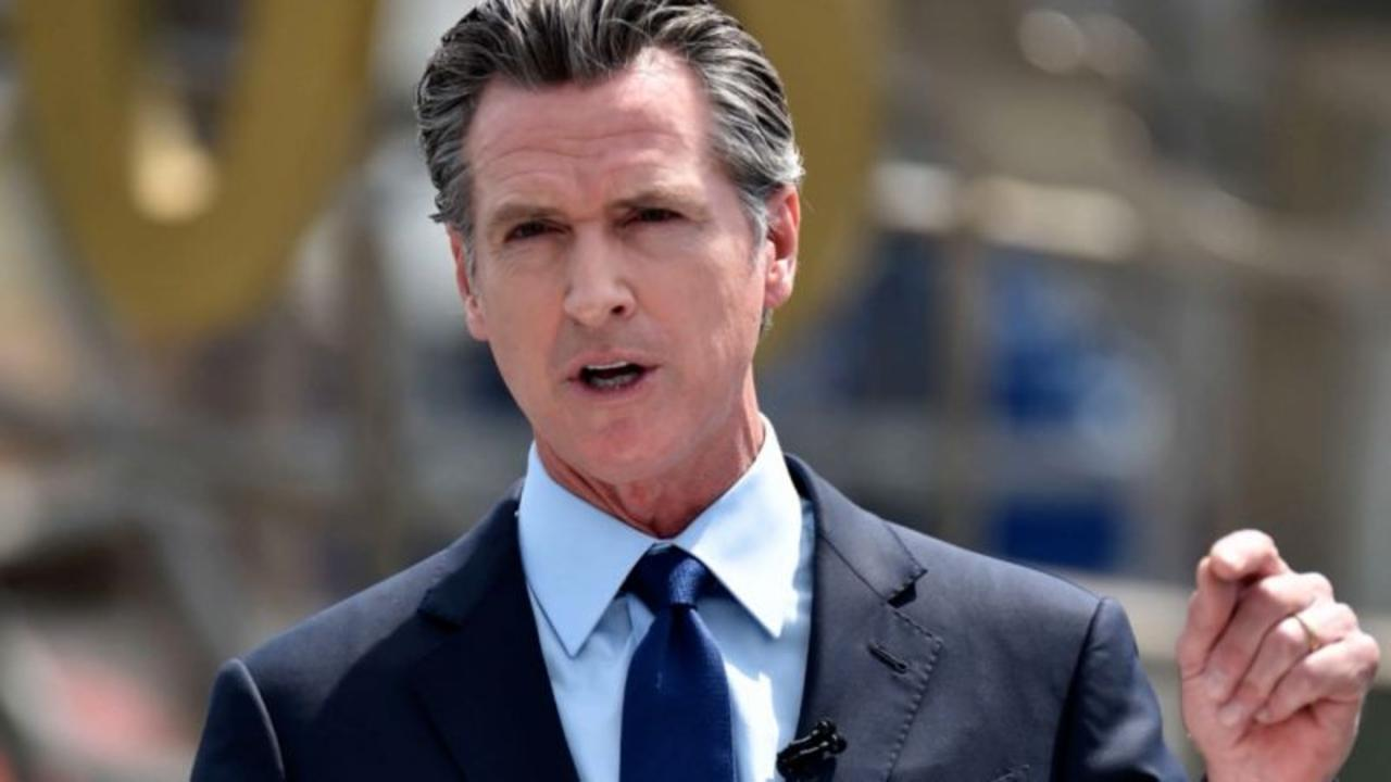 Democratic support for California Gov. Newsom dwinding