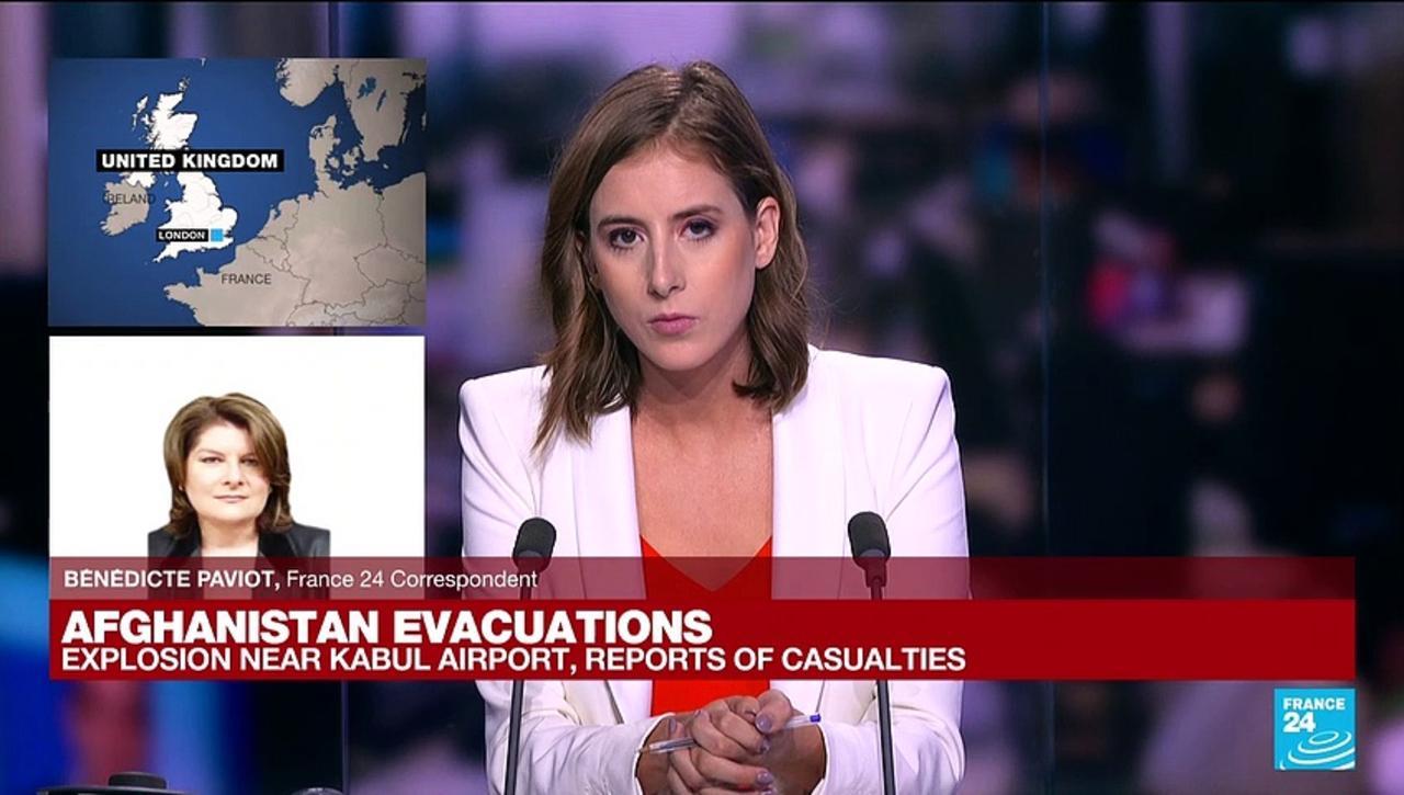 Kabul explosion: UK says working urgently to establish details at Kabul airport