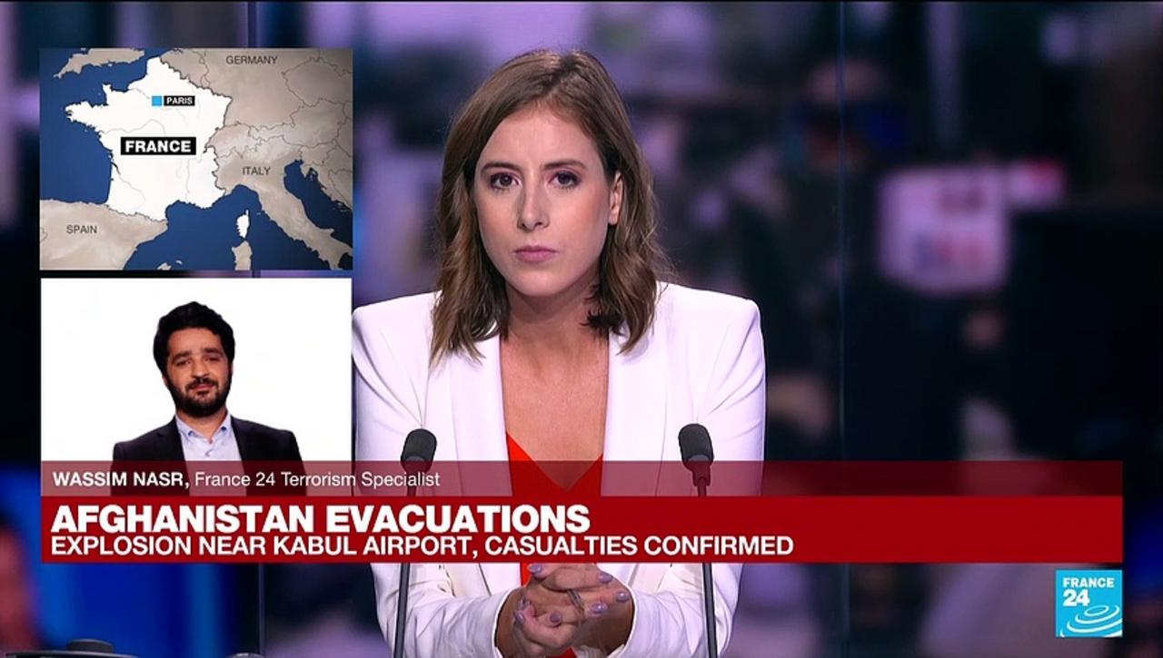 Explosion near Kabul airport: 'It was quite expected since day one'