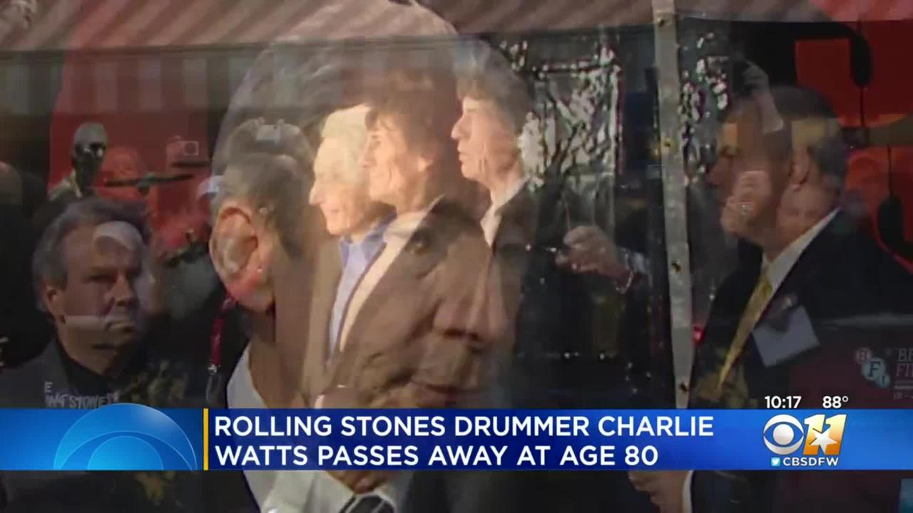 North Texas Rolling Stones Tribute Band Drummer Remembers Charlie Watts